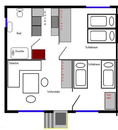 stettiner haff grundriss ferienhaus. Black Bedroom Furniture Sets. Home Design Ideas